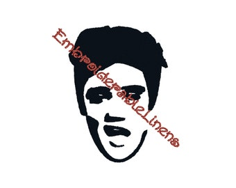 Elvis Embroidery Design Instant Download All Formats