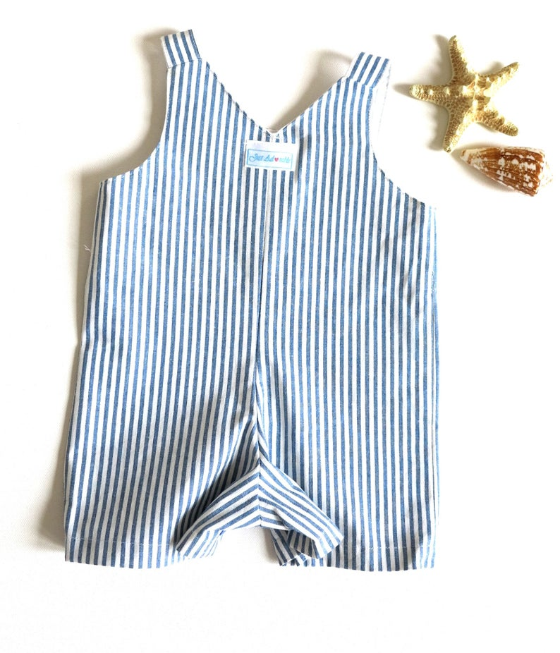 82a3a7c57058 Baby boy suit Baby beachwear Baby shorts Appliqued blue   Etsy