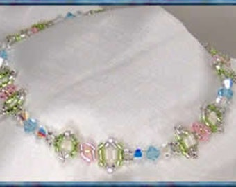 A Breath Of Spring - Beaded Chain Tutorial