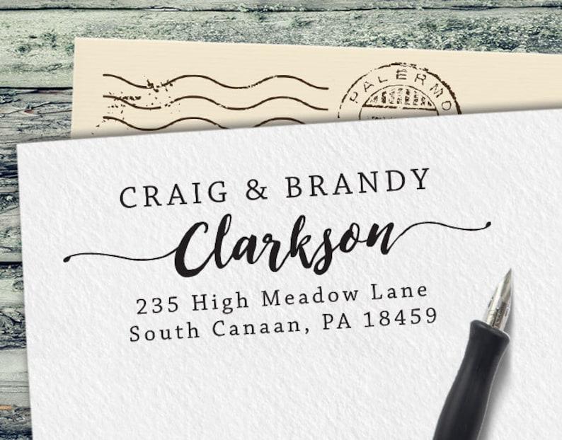 Personalized Address Stamp Custom Stamp Custom Rubber Stamp Self Inking Address Stamp Personalized Return Address Stamp Ra101