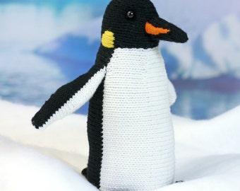 ROALD the Penguin knitting pattern