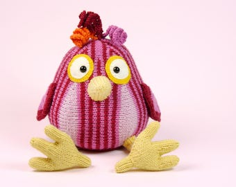 FUNNY BIRD knitting pattern