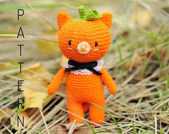 Vintage Style Halloween Amigurumi Cat | From amigurumi colle… | Flickr | 451x570