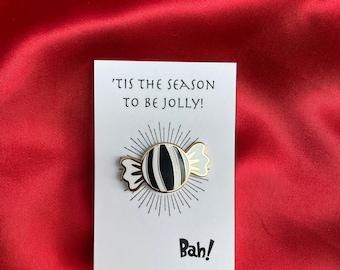 Humbug enamel Pin - Festive! Bah Humbug