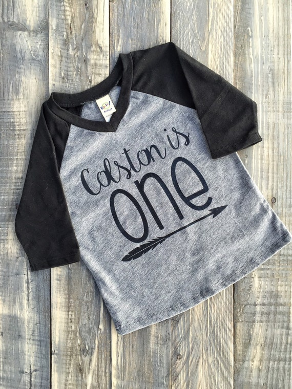 First Birthday Shirt Custom Name Urban Tshirt