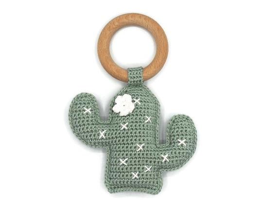 Super HAAKPATROON rammelaar cactus | Etsy #QW94