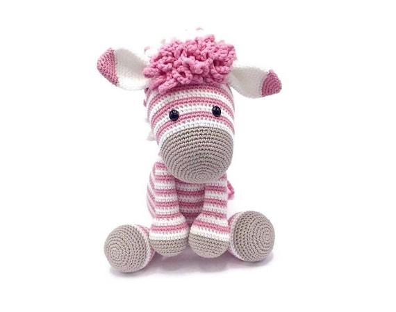 Amigurumi Knitting Crocheted amigurumi zebra (amigurumi zebra ... | 449x570
