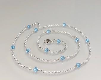 topaz blue gemstone jewelry opal natural gemstones Genuine gemstone necklace silver multi gemstones dainty stone slim beaded choker