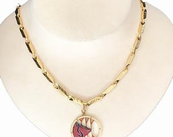 Men's Exotic Gold or Silver Chain Necklace with Lifestyle Pendant