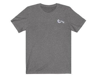 Unisex Jersey Short Sleeve Tee with Partners ID Swinger Symbol Logo