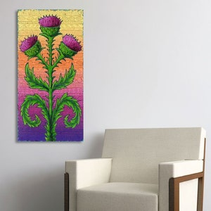 Thistles Home is where my Heart is - chart 2019