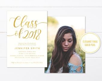 college graduation announcement etsy