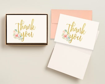 printable thank you cards printed personalized engagement thank you notes printed graduation thank you cards bridal shower thank you