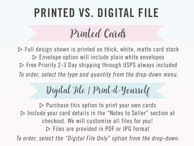 DIY Save The Date Invites Kraft Paper Invite Rustic Save The Dates Printed or Printable Save The Date Cards on Brown Kraft Paper Design