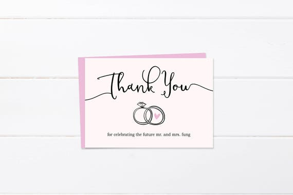 image 0 - Engagement Thank You Cards