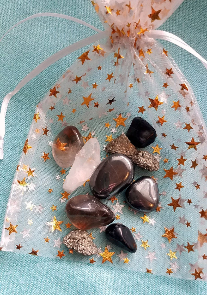Aura Protector Empath Special Crystal Power Pack