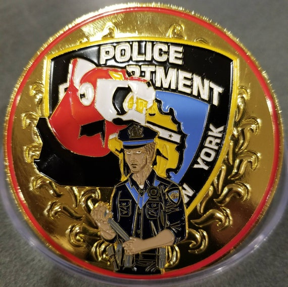 NYPD Coin The Police Detective Red Lion Coin voltron theme