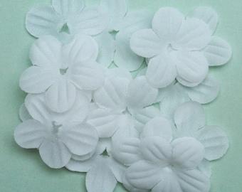 White fabric flower etsy white fabric flower fabric flowers flower petals flowers petals mightylinksfo