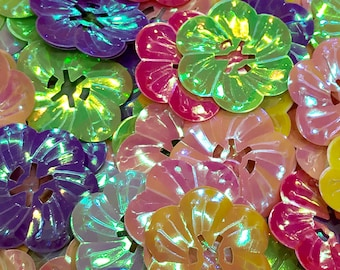 Flower sequins-rainbow sequins-sequins