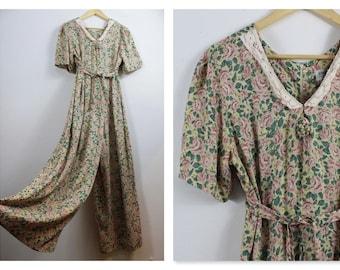 848ec3ea6f9 90 a Cotton Culottes  Flare Jumpsuit