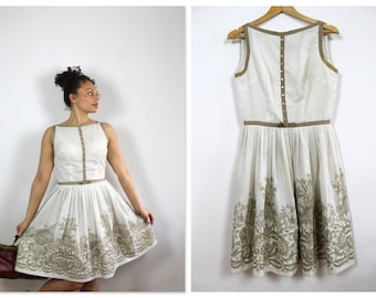 L'Aiglon Mid Century 50's Day Dress!