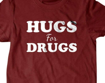 a7a14266f0 Herrenmode I Love Meth T-shirt NY Funny Drugs Tee LSD High Crystals Novelty  Party Top