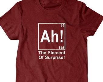 8c1c1a71a9 Surprise T-shirt, Ah! the element of surpirse, chemistry Funny T shirt, T  Shirts for Men | T Shirts for Boyfriend & Husband 33
