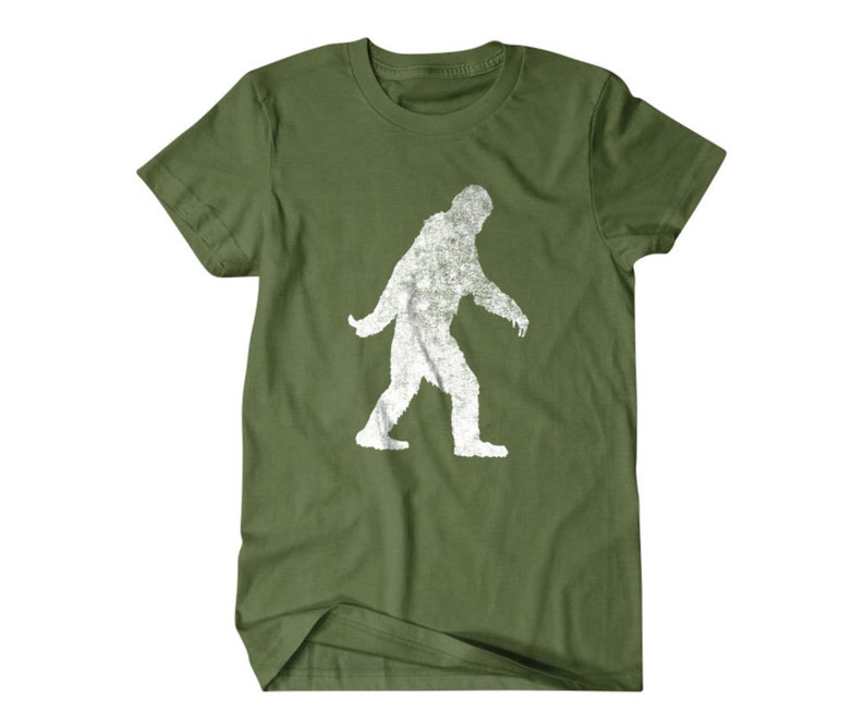 Bigfoot T-shirt, Sasquatch Funny T Shirts for Men, Yeti, | T Shirts for  Boyfriend & Husband | Lovely Gifts for Dad | PorpoiseTees 2