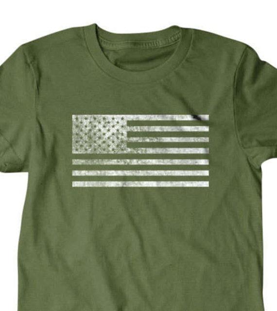 7c437fab8 USA Flag Shirt American flag Flag T-shirt Funny T shirt | Etsy