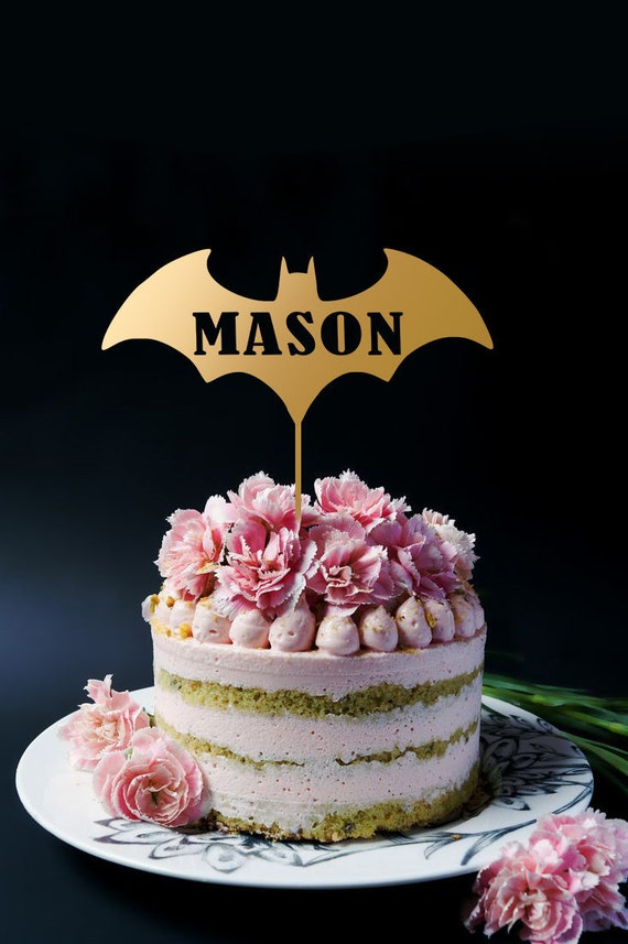 Birthday Cake Topper Batman