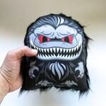 Cuddle Crite Mini! Critters Movie Inspired Monster Handmade Plush Mini Pillow Doll! Monster Art!