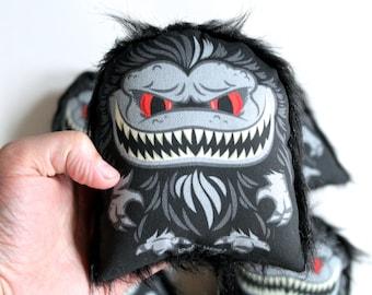 Tiny Crite! Critters Movie Inspired Monster Handmade Plush Mini Pillow Doll! Monster Art!