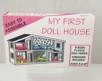 Vintage Antique 19601970 MARTIN FUCHS German DollHouse Doll/'s Scales Wrapping Paper Plastic Puppenhaus Spielzug Grocery Store Shop