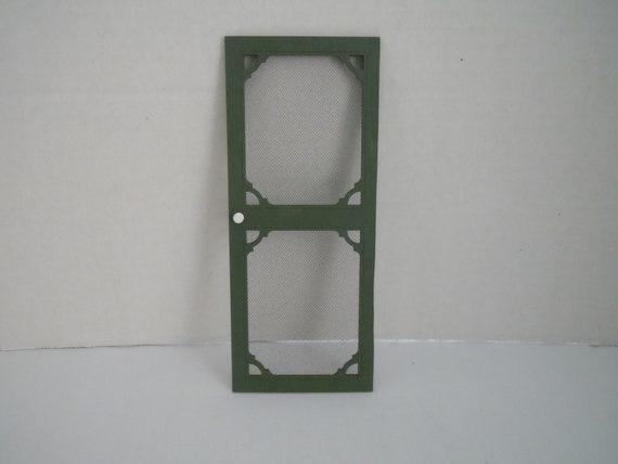 Dollhouse Miniature Screen Door Miniature Door 1 12th Etsy