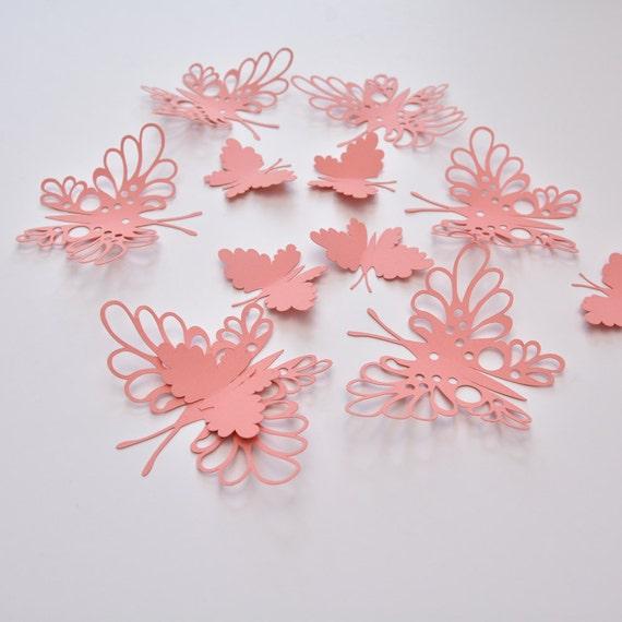 20 Paper Butterflies Butterfly Wall Stickers Butterfly | Etsy