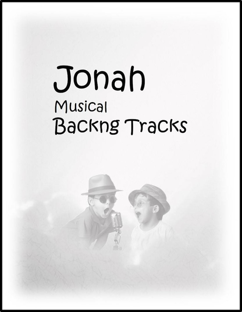 Jonah: Instrumental backing tracks of all ten songs in the image 0