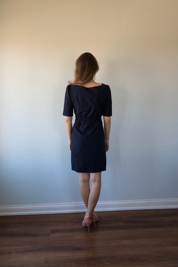 Moschino Cheap and Chic Navy Blue Cotton Dress, M… - image 5