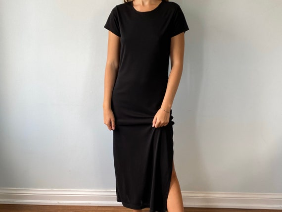 Vintage Black Dress, Ungaro, Emanuel Ungaro Libert