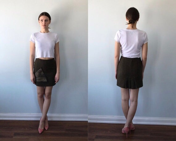 Vintage Short Skirt, Vintage Skirt, Save the Queen