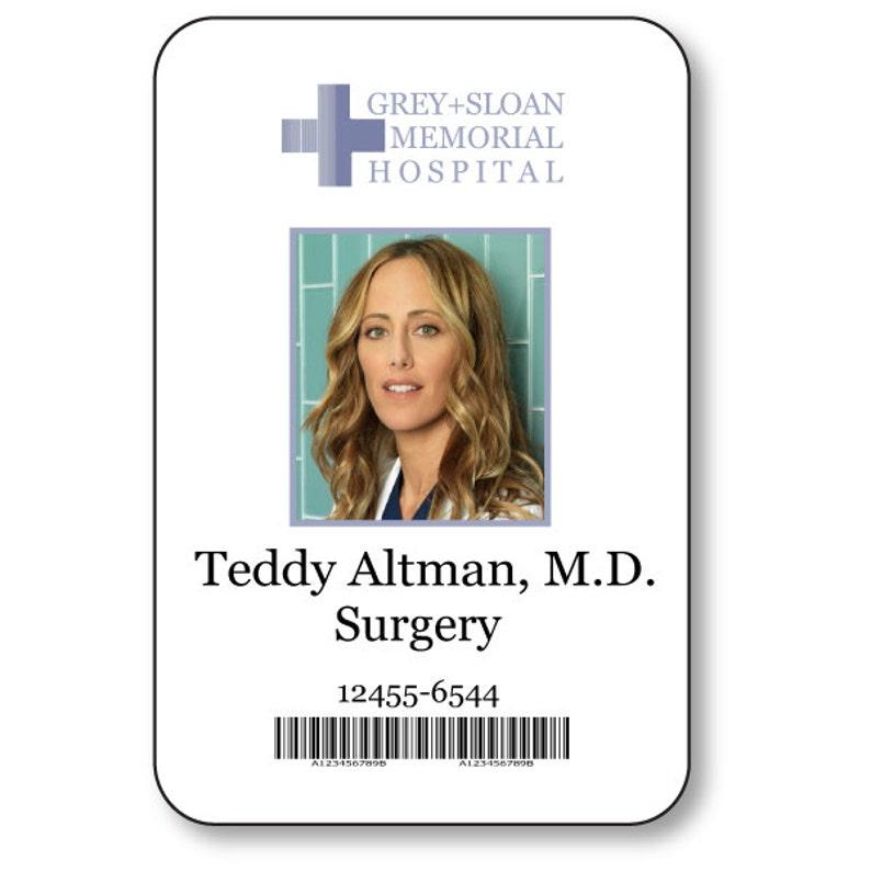 Teddy Altman Doctor On Greys Anatomy T V Show Magnetic Etsy