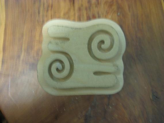 Kwatakye-Atiko, Adinkra Hand Crafted Wooden Stamp