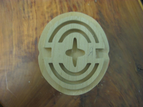 Mmara-Krado, Adinkra Handmade wooden Stamp