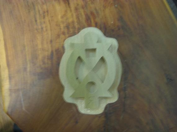 Boa me na me mmoa wo, Adinkra Handmade wooden Stamp