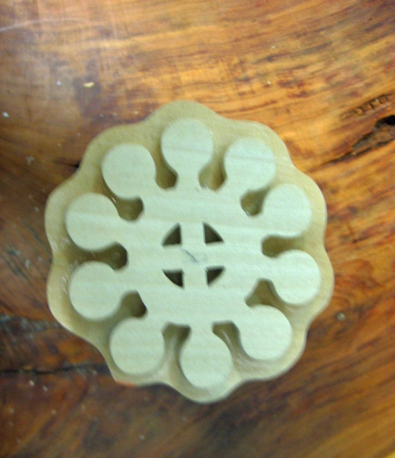 Ohene Aniwa, Adinkra Hand Crafted Wooden Stamp