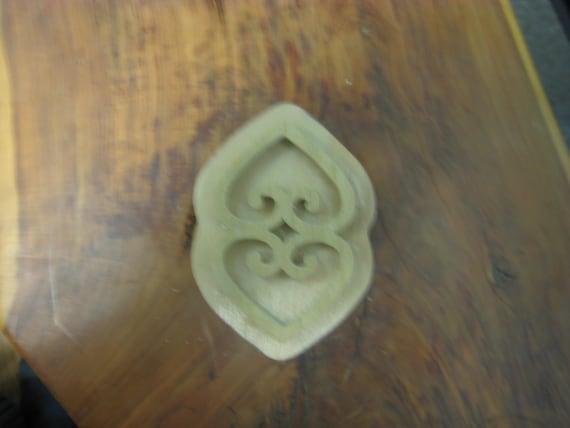 Asase Ye Duru, Adinkra Handmade wooden Stamp