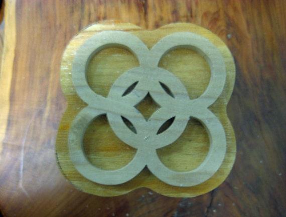Kuntunkantan, Adinkra Hand Crafted Wooden Stamp