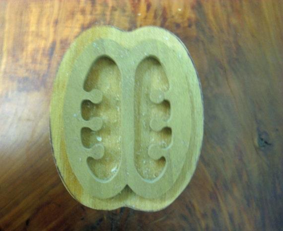 Ese Ne Tekrema, Adinkra Hand Crafted Wooden Stamp