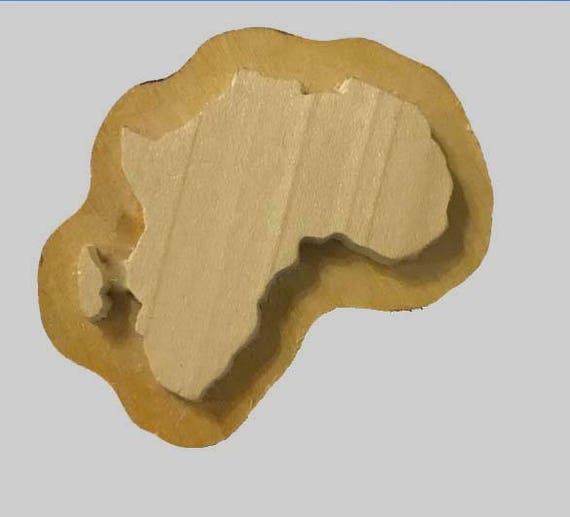 Africa Handmade wooden Stamp