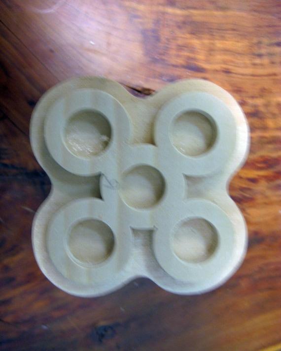 Mpuannum, Adinkra Handmade wooden Stamp