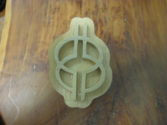 Nyansapo, Adinkra Handmade wooden Stamp